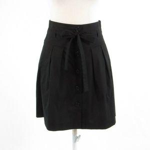 Black THEORY A-line skirt 2